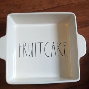 Rae Dunn Fruitcake Baking Dish